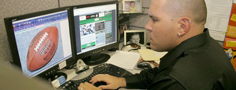 Tim Brown on Fantasy Football in the workplace